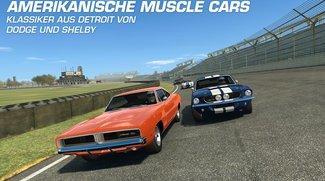 Real Racing 3: Update bringt Muscle Cars und Google-Account-Verknüpfung