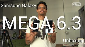 Samsung Galaxy Mega 6.3 im Unboxing, dieses Mal weniger Hardcore