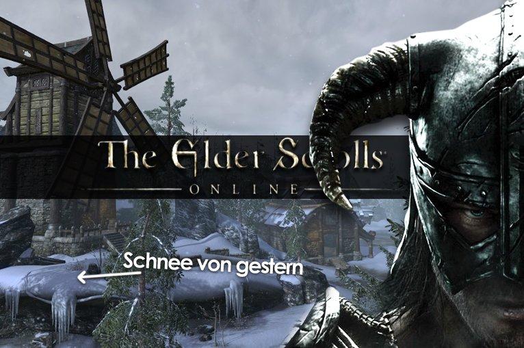 The Elder Scrolls Online: Knietief im Schnee von gestern