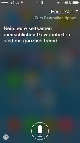 Siri auf iPhone und iPad