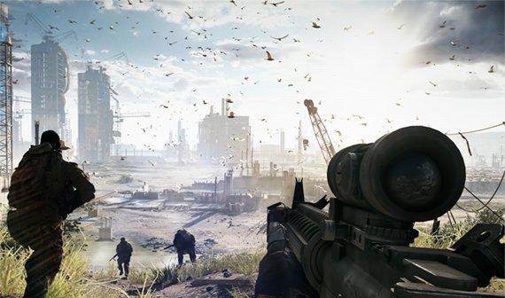 Battlefield 4: Spectator Mode, zerschellende Schiffe, dyanmisches Wetter
