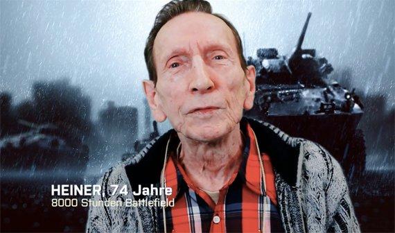 Heiner, 74 Jahre, teast Battlefield 4 offiziell für die Gamescom an