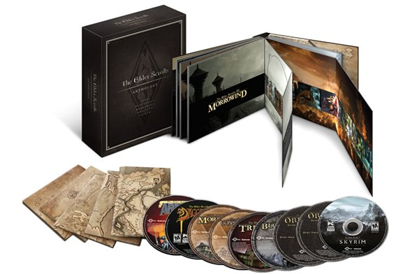 The Elder Scrolls Anthology angekündigt