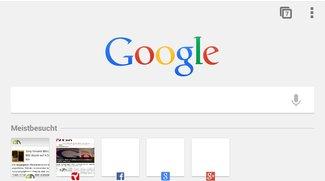 Chrome für Android: Neue Startseite in der Beta-Version aktivieren – so geht's