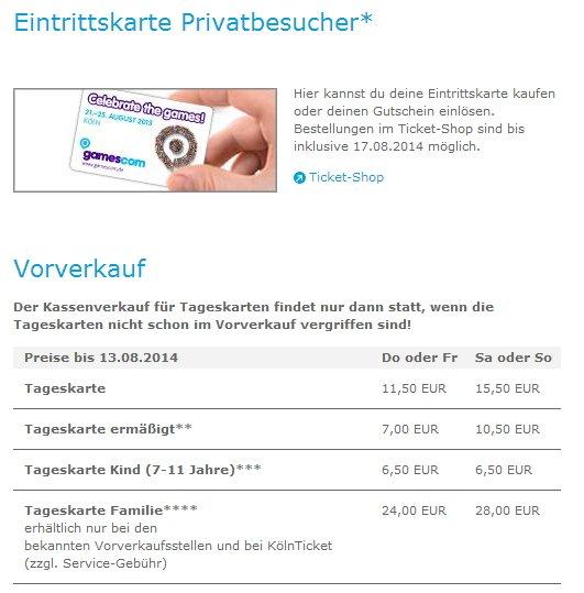 gamescom-2014-Tickets