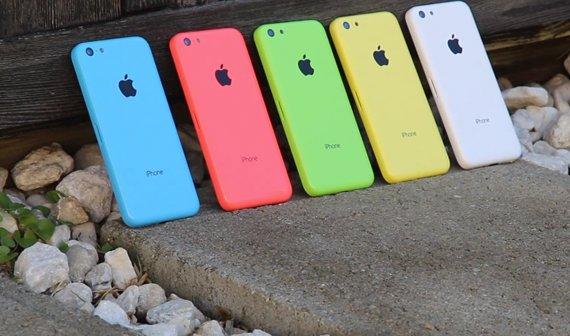 iPhone 5C: Video zeigt alle Farben im Vergleich