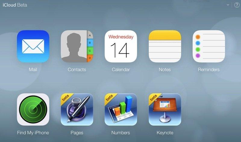 iCloud.com-Beta im iOS-7-Design: Vorbote für OS XI?