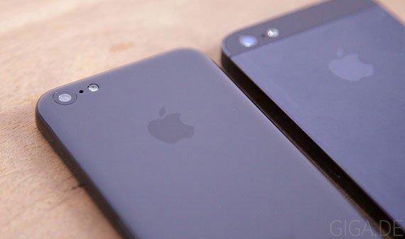 iPhone 5C: Design-Dummy im Vergleich zum iPhone 5 [Galerie]