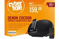 Denon Cocoon Portable Soundsystem für 159,00 Euro bei Cyberport