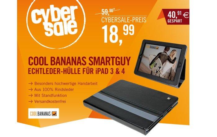Cool Bananas SmartGuy iPad Hülle für 18,99 Euro im Cybersale
