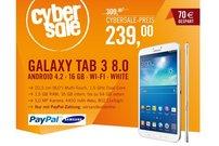Samsung Galaxy Tab 3 8.0 für 239,00 Euro im Cybersale