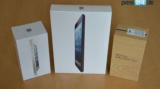 GIGA und preis24 Gewinnspiel zum IFA-Auftakt: Samsung Galaxy S4, iPhone 5 und iPad mini