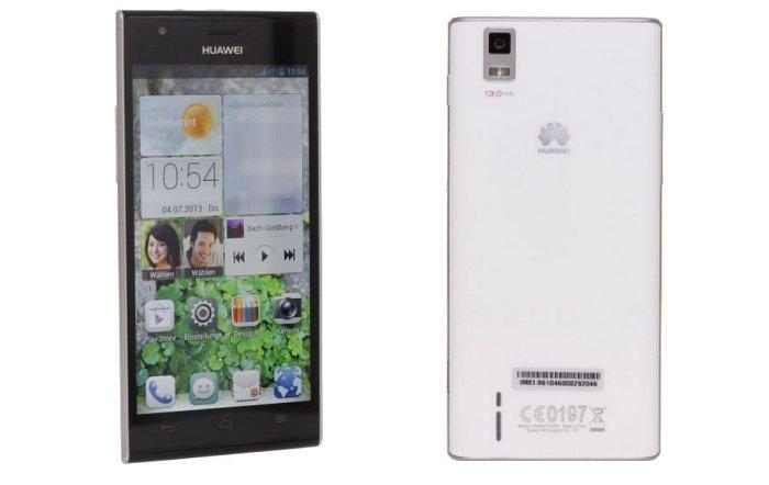 Huawei Ascend P2 polar white für 299,90 Euro bei Getgoods