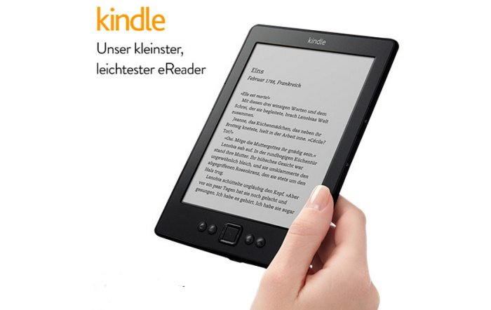 Amazon Kindle eReader für 49,00 Euro