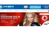Vodafone Allnet-Flat RED M für 44,99 Euro pro Monat