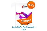 Soda PDF 5 Professional + OCR für 39,98 Euro bei Softwareload