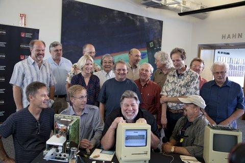 Gruppenfoto der Apple-Veteranen