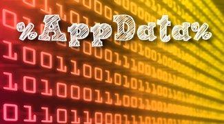 AppData-Ordner: Öffnen und sogar gesperrte Daten löschen