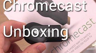 Google Chromecast im Unboxing