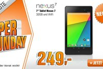 Google Nexus 7 (2013) 32 GB heute für 249 Euro