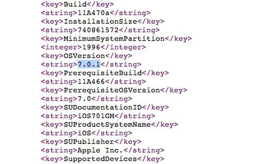 iOS 7.0.1 für iPhone 5s und 5c veröffentlicht