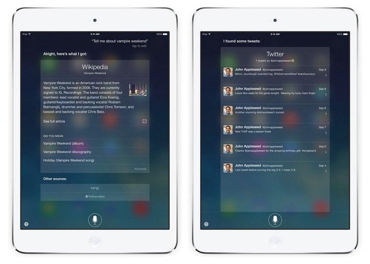 Siri: Zuverlässigkeit mit iOS 7 nochmals verbessert