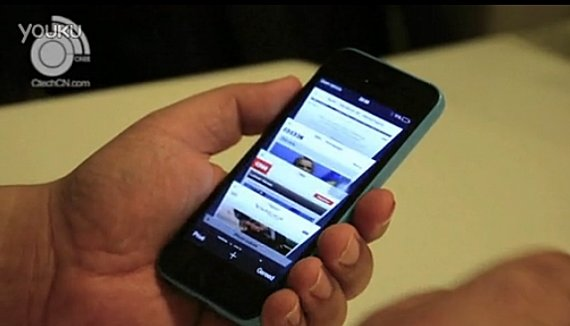iPhone 5C: Video zeigt Einstiegs-Smartphone in Aktion
