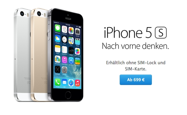iphone 5 s 64gb preis