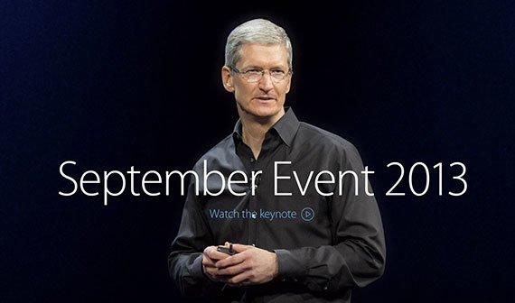 Apple Special Event 2013 - Video verfügbar [Update: Jetzt auch auf Youtube]