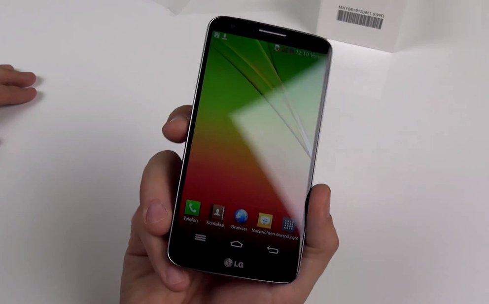 LG G2: 5,2-Zoll-Smartphone mit Full HD-Display im Hands-On-Video [IFA 2013]