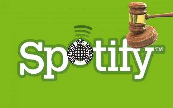 Spotify wegen Urheberrechtsverletzung verklagt
