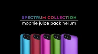 "Mophie Juice Pack Helium in Farbe: Die ""Spectrum Collection"""