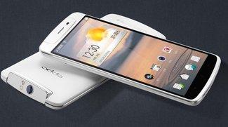 Oppo N1: Oberklasse-Phablet im Hands-On-Video [MWC 2014]