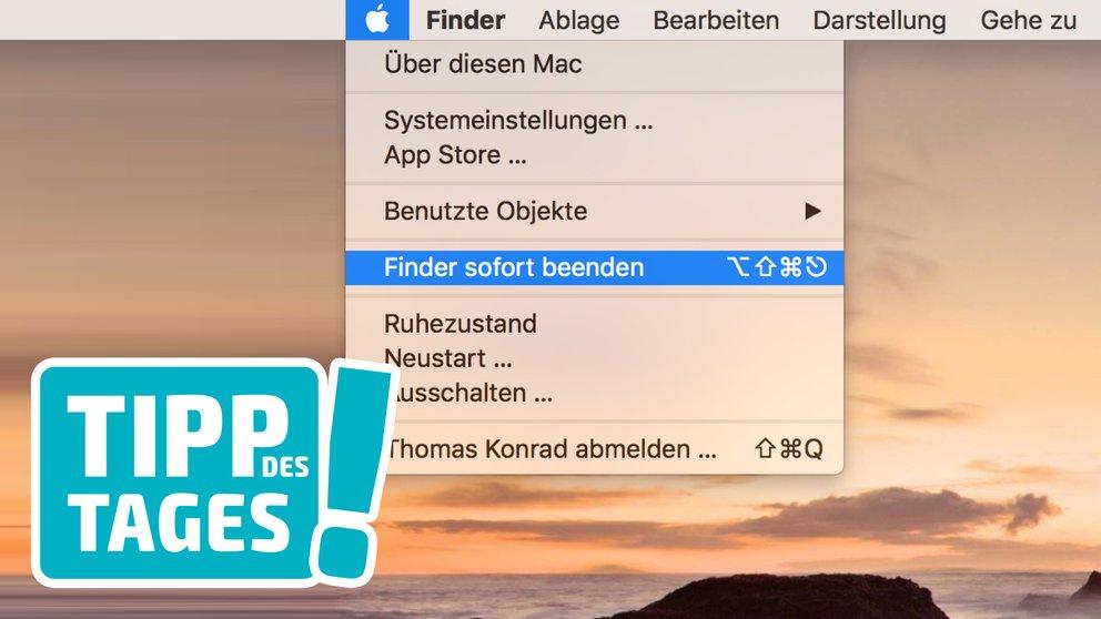 """Tipp: Programm am Mac bei Problem """"sofort beenden"""""""