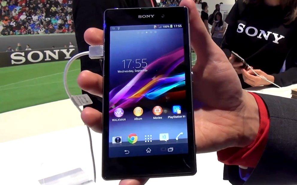 Sony Xperia Z1: Hands-On-Video zum neuen Flaggschiff-Smartphone [IFA 2013]