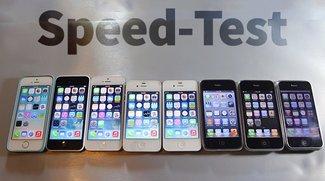 Video of the Day: Alle iPhone-Generationen im Geschwindigkeits-Vergleich