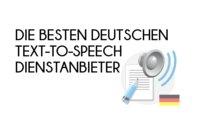 Text to Speech: Auf Deutsch vorlesen lassen – die besten Dienste