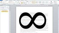Unendlich-Zeichen schreiben: So geht's mit Word, Excel, iPhone und Co.