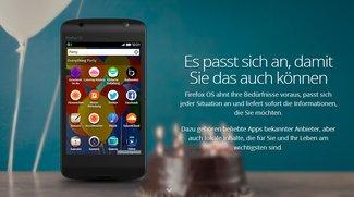 Firefox OS ist da - so probiert ihr es aus
