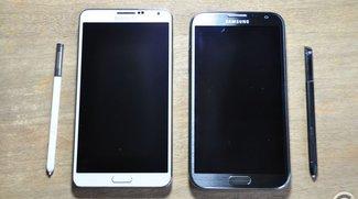 Galaxy Note 3 vs. Galaxy Note 2: Ein ganz klarer Sieger