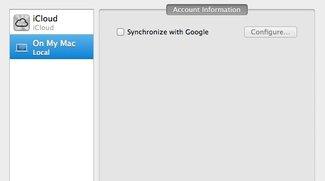 Sicherheitsrisiko: OS-X-Adressbuch synchronisiert unverschlüsselt mit Gmail-Account