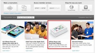 Apple Store: iPhone-Trade-in-Programm jetzt auch in Großbritannien