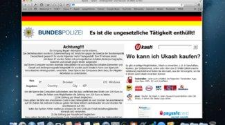 Bundespolizei-Virus vom Mac entfernen – Ganz einfach
