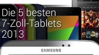 Die 5 besten 7-Zoll-Tablets im Überblick (2013)