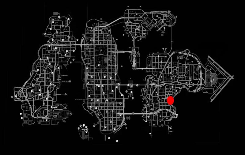Где находится тюнинг в гта 4 на карте