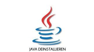 Java deinstallieren: So deinstalliert ihr die aktuelle und ältere Versionen