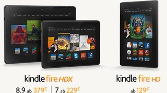Kindle Fire HDX: Neue Amazon-Tablets jetzt auch in Deutschland bestellbar