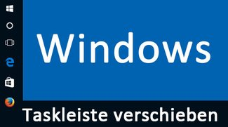 Taskleiste verschieben: So geht's in Windows 10, 7, 8