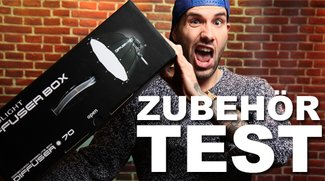 TEST: SMDV 70cm Dodecagonal Softbox für Aufsteckblitze