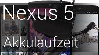 Nexus 5 Akkulaufzeit: Das Ergebnis ist gut und schlecht